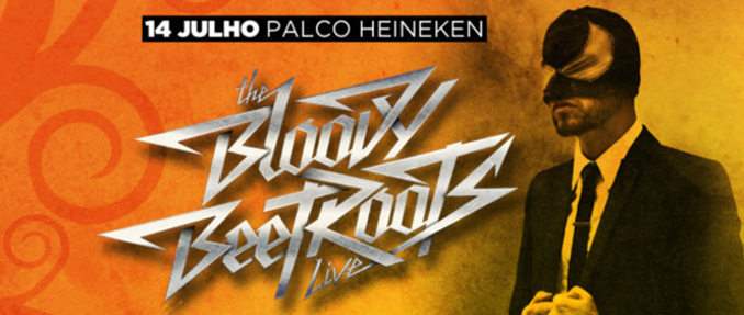 The Bloody Beetroots (live) no Optimus Alive // 14 Julho