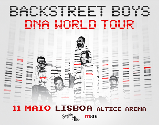 Backstreet Boys – Pacotes VIP